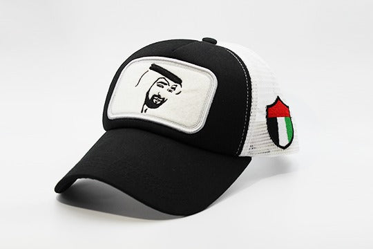 HH MBZ Cap - Black/White