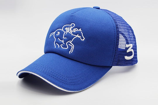 blue-large-size-horseman-cap-sidelong