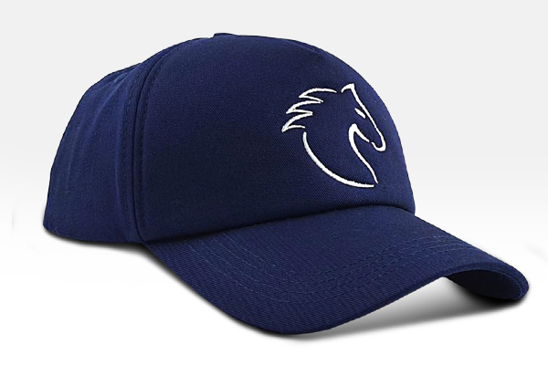 The Horse Cap - Navy blue | Large