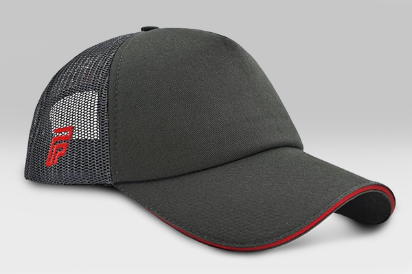 No Time Cap - Grey/Red | Large
