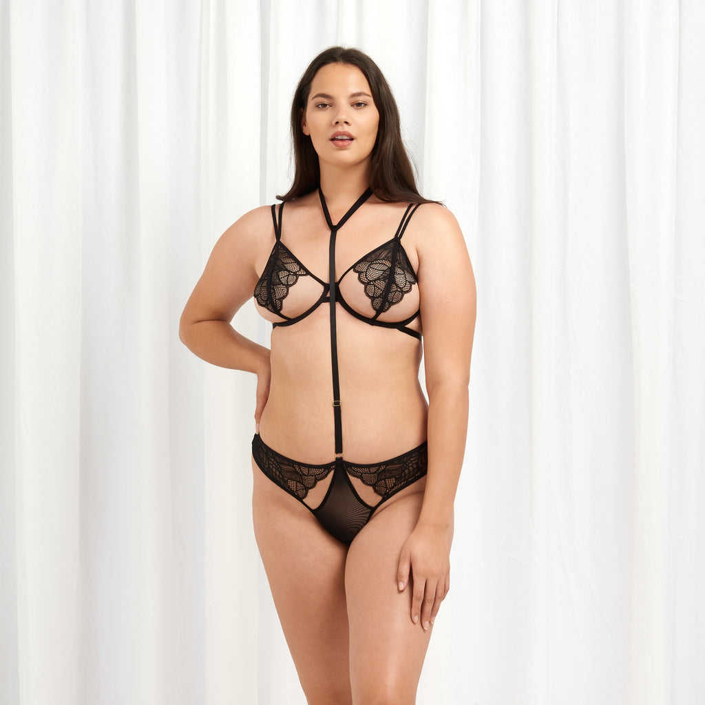 Emerson Slip Harness Nero