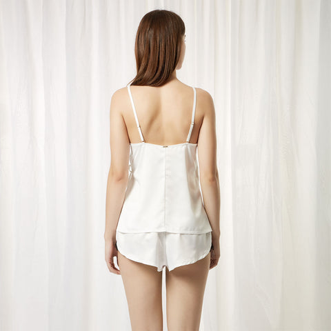 Angelica Set Top e Short Crema