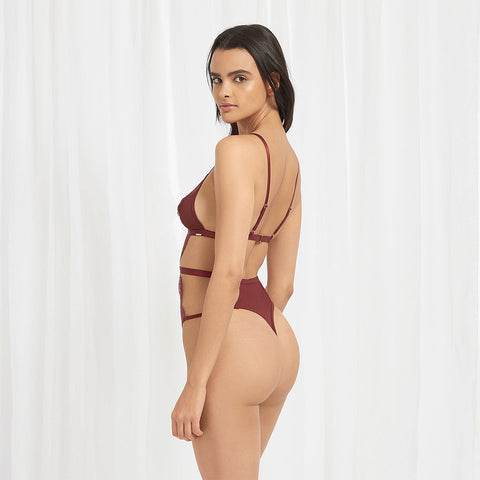 Lucy Body Bordeaux