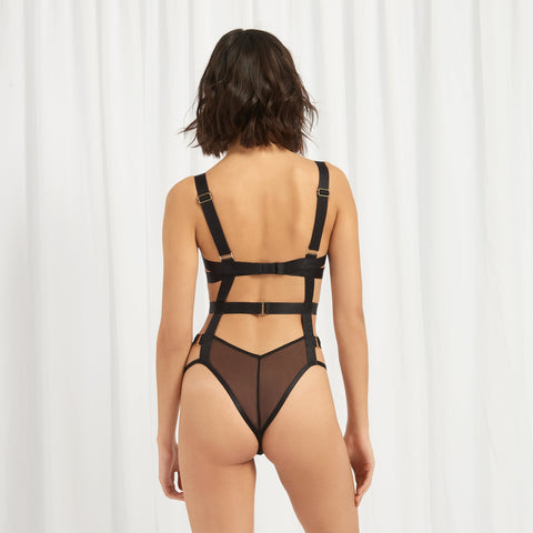Rani Body con Ferretto Nero