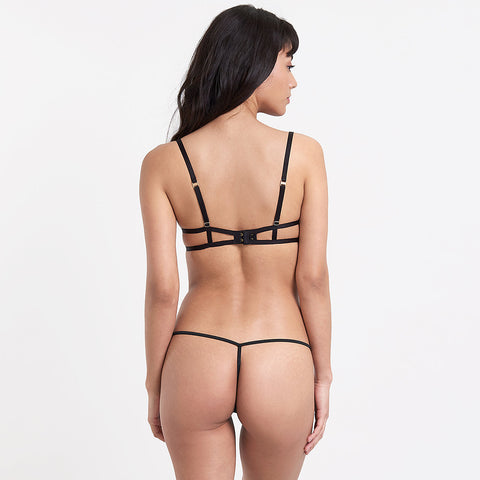 Amina Body con Ferretto Nero
