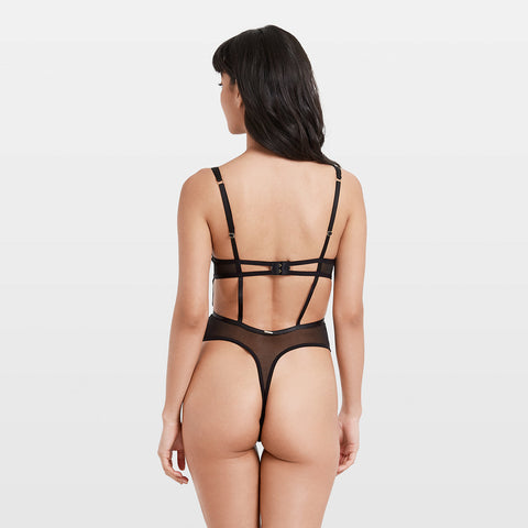 Milana Body con Ferretto Nero