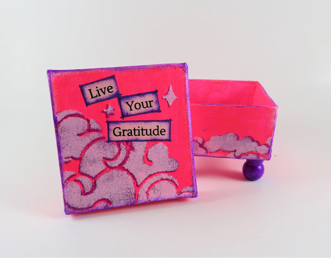 Inspiration Box - Gratitude in Pink