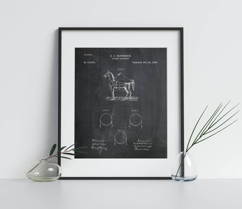 Horse Blanket Patent