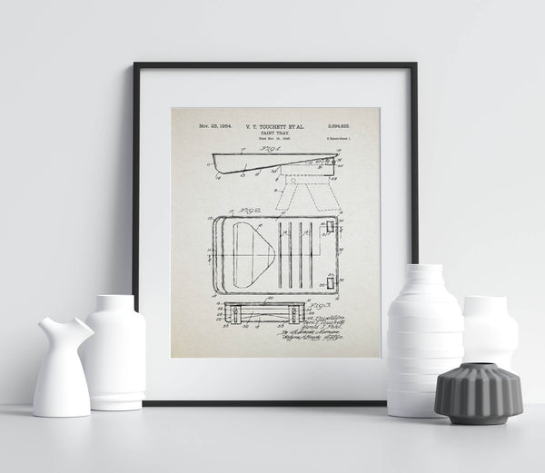 Paint Tray Patent