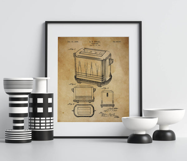 Toaster Patent