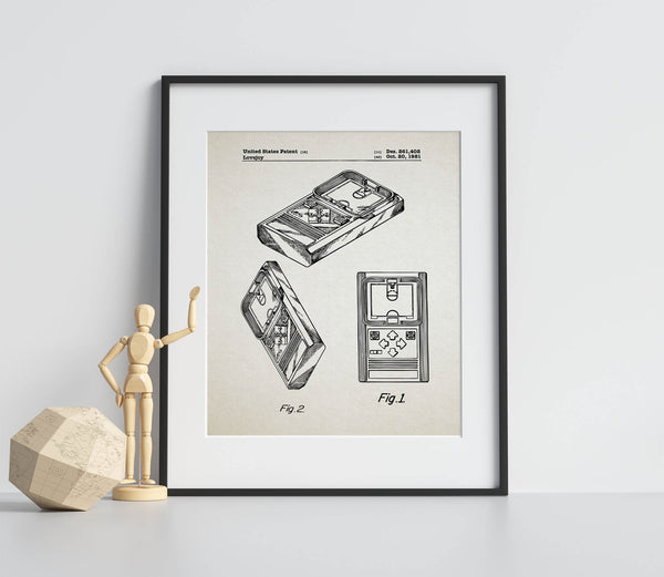 Basketball Game Patent 1981