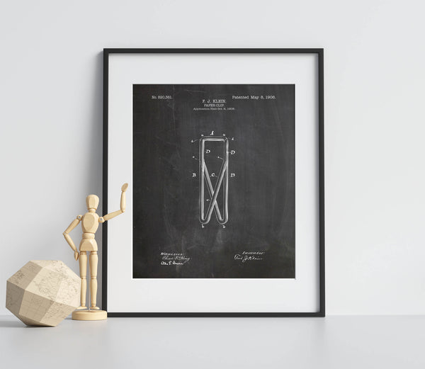 Paper Clip Poster