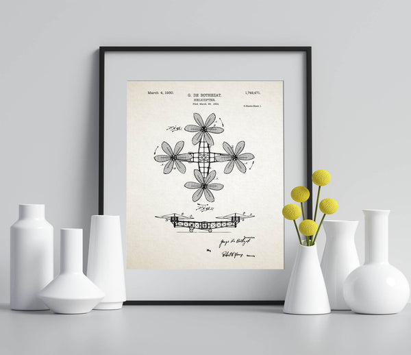 Vintage Helicopter Patent