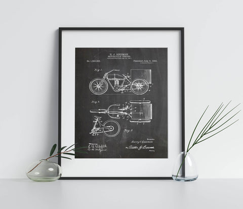Motorcycle Patent