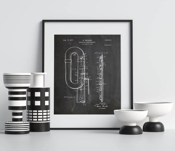 Musical Instrument Poster