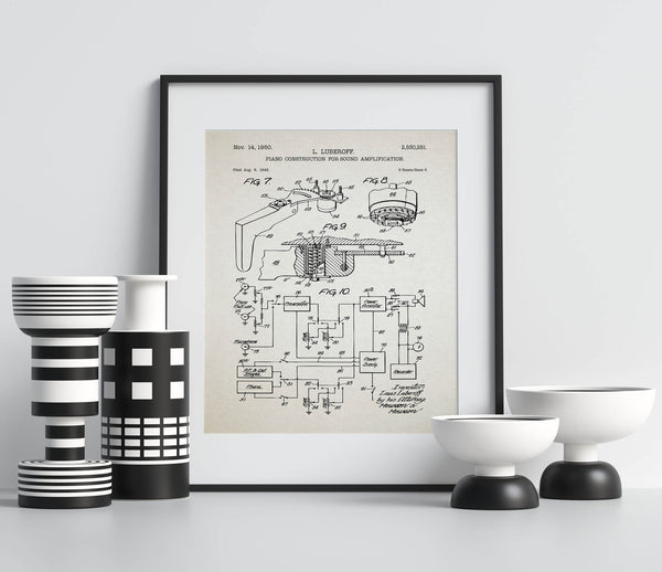 Piano Sound Amplification Patent