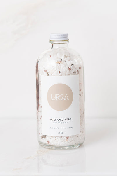 URSA - Volcanic Herb Soaking Salt
