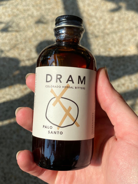 Dram Apothecary - Palo Santo Bitters LOCAL DELIVERY / PICK UP ONLY
