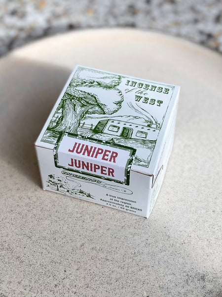 Incense of the West - Juniper Incense Bricks
