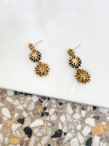 MADE IN Jewelry - Guatape Tiered Earrings
