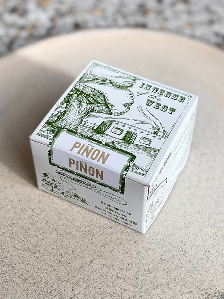 Incense of the West - Piñon Incense Bricks