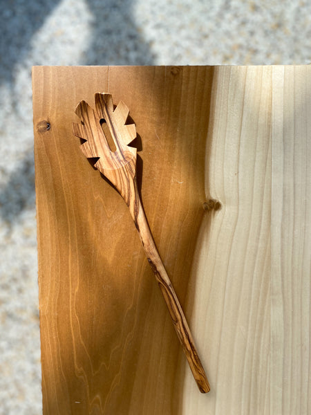 Olive Wood Pasta Spoon