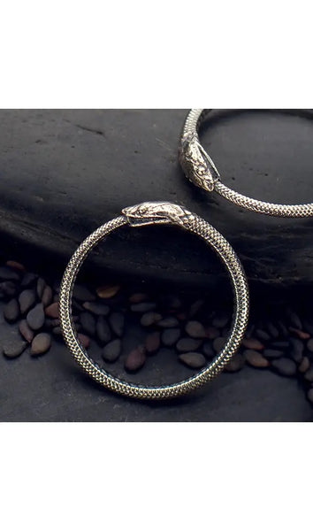 Ouroboros Ring - Sterling Silver