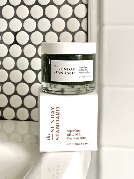 The Sunday Standard - Superfood Oil-to-Milk Cleansing Balm Full Size