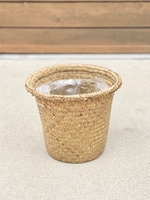 "8"" Seagrass Basket with Plastic Liner (LOCAL PICKUP ONLY)"