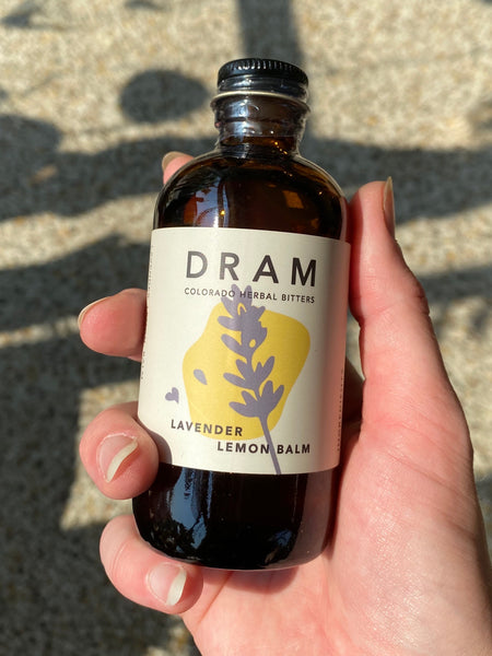Dram Apothecary - Lavender Lemon Balm Bitters LOCAL DELIVERY / PICK UP ONLY