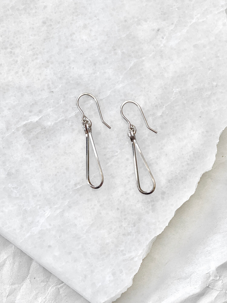 Lisa Slodki - Silver Loop Earrings