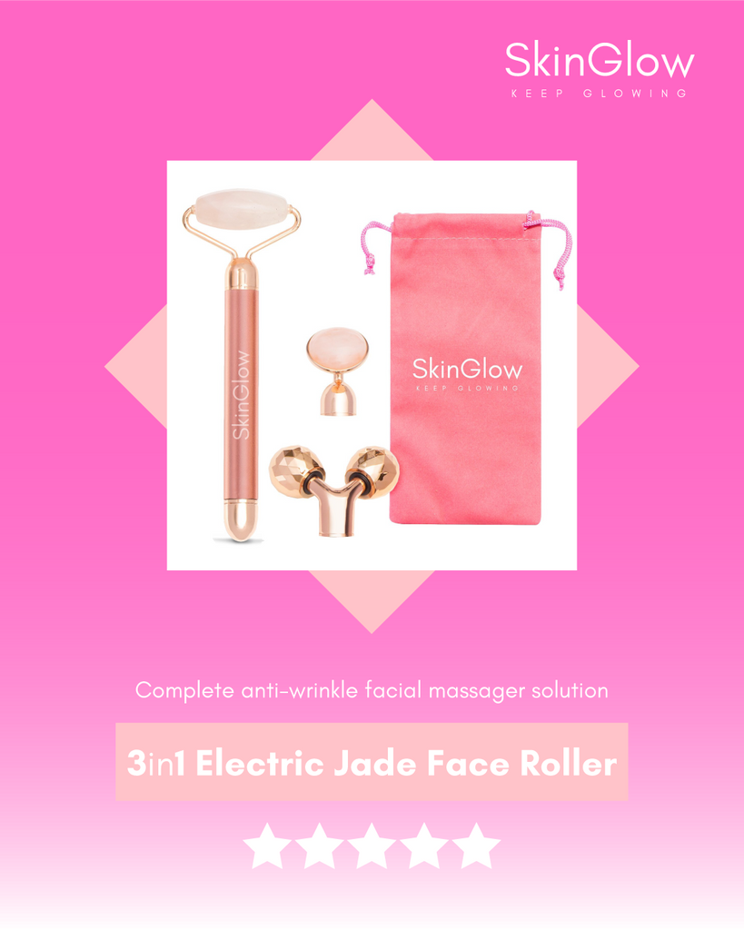 3in1 Electric Jade Face Roller - Smooth Skin Today