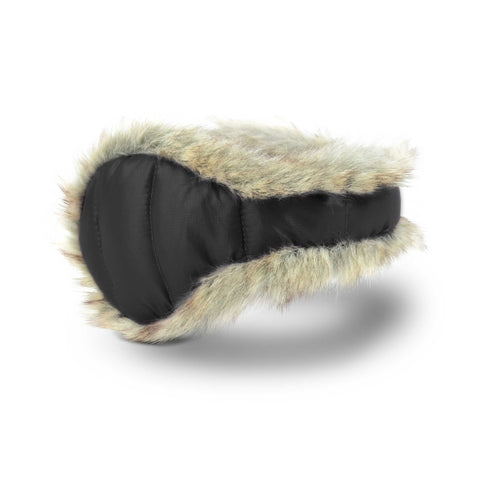 Women's Down with Fur Ear Warmer