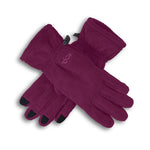 Lush Gloves Women Magenta Purple