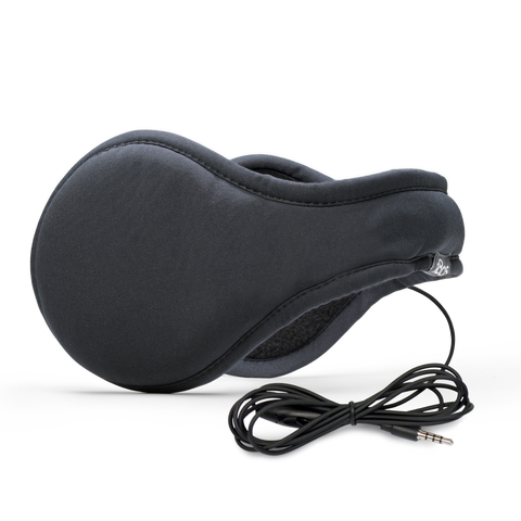 Urban Headphone Ear Warmer Men Black