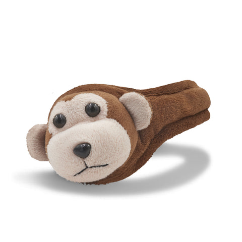 Monkey Ear Warmer Youth Brown/Almond Oil