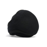 Wool Ear Warmer Men Black