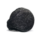 Aztec Ear Warmer Men Charcoal Heather