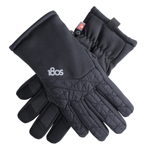 Shetland Gloves Women Black