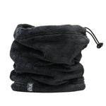 Lush Multifunctional Women Neck Warmer Black