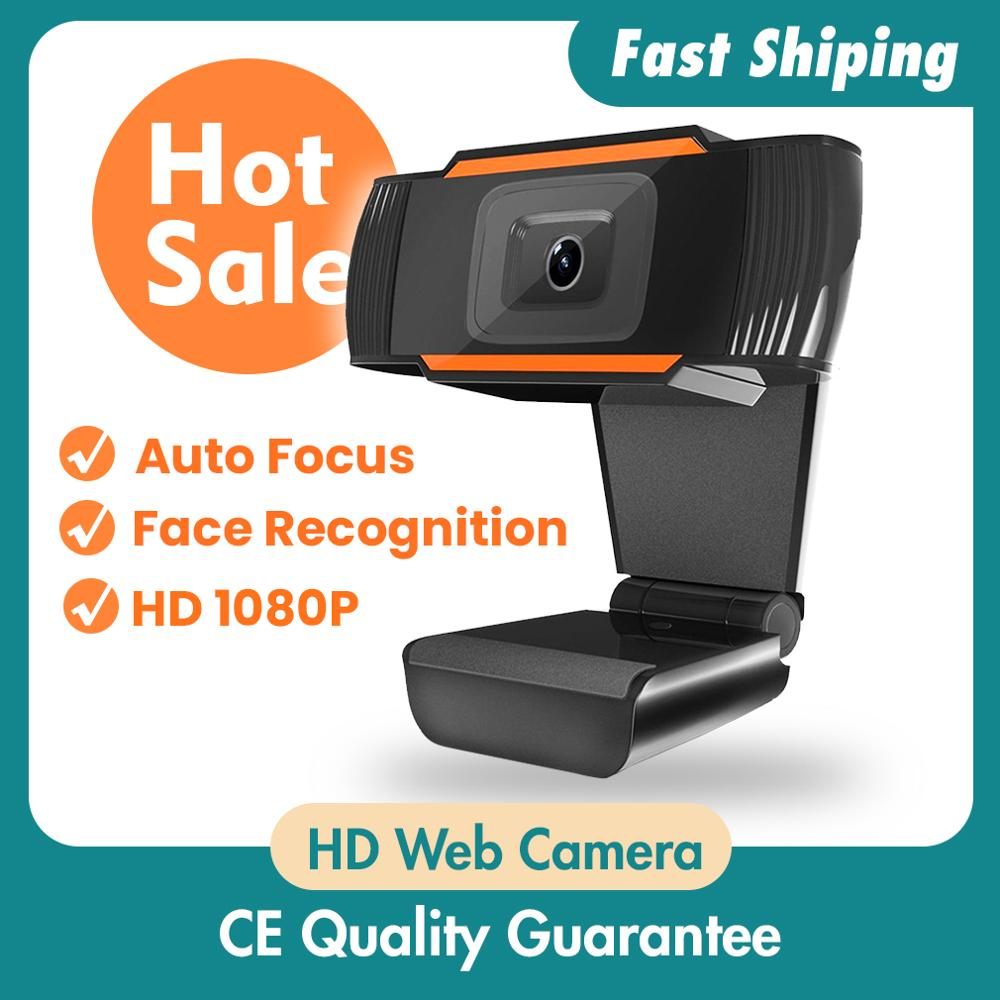 1080P Rotatable 2.0 HD Webcam  Digital USB Camera Video Recording NEW