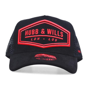 HEX LDN - LOS Patch Hat - Black/Red