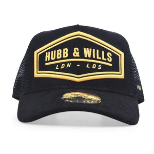 HEX LDN - LOS Patch Hat - Black/Gold
