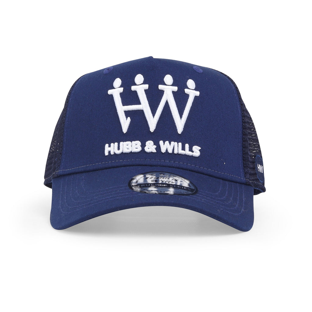 Royal Blue Trucker Hat