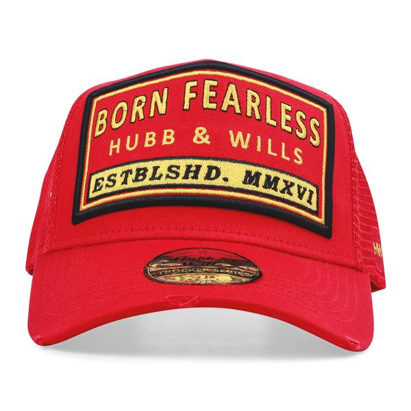 Born Fearless Patch Trucker Hat