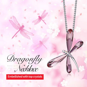 Luxury Dragonfly Necklace