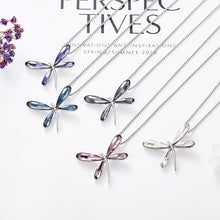 Load image into Gallery viewer, Luxury Dragonfly Necklace