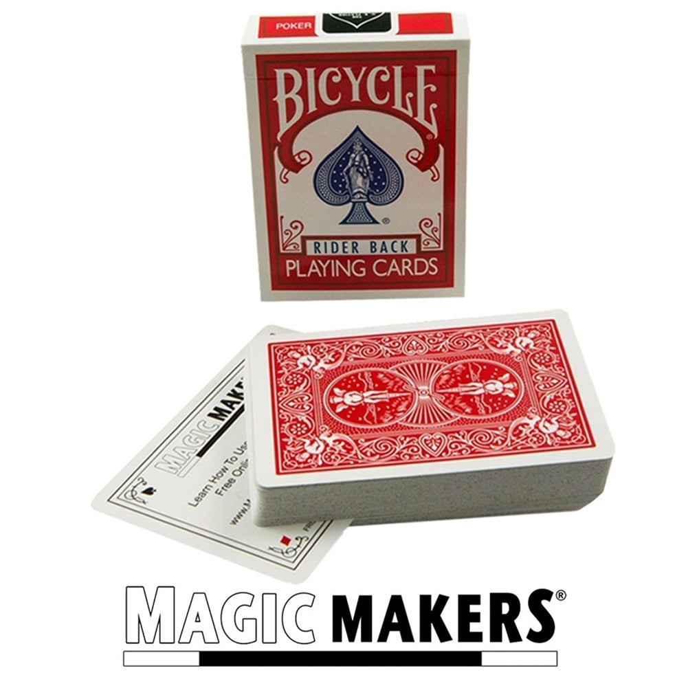 Stripper Bicycle Deck Red