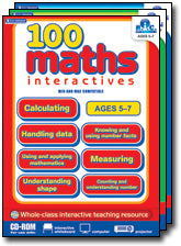 100 Maths Activities - Interactive CD-ROM Ages 8-10