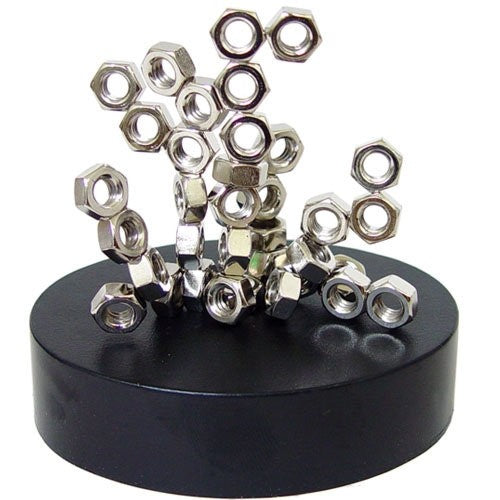 Magnetic Sculpture - Nuts